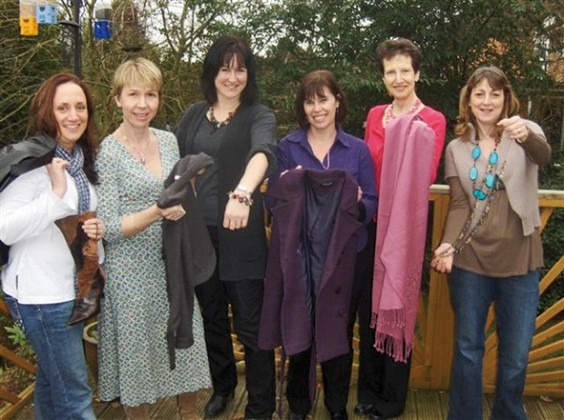 Ladies who attended the Frock Exchange