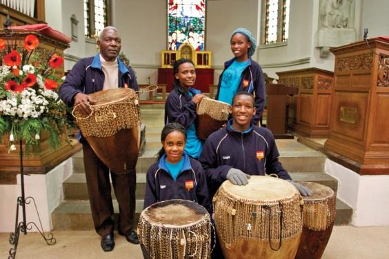 Pearl of Africa choir members