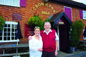 Dave and Tricia Fisher leave The Crown Inn, Withybed Green, after 26 years.