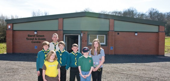 New Scout and Guide centre