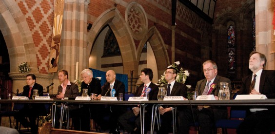 Candidates Sam Burden, Mark France, David Martin, Sajid Javid, Adrian Kriss, Philip Ling, Steve Morson and Ken Wheatley
