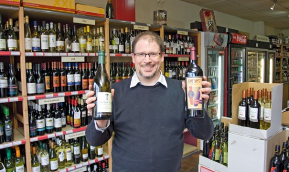 Vinalia's owner Ed Killworth