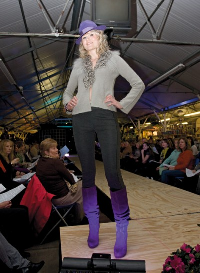 Louisa models daywear from Joolz of Barnt Green