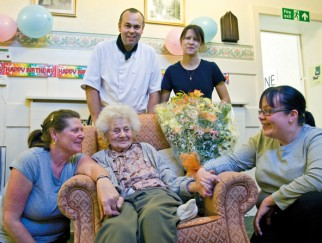 Kathleen Whitlock celebrates her 103rd birthday