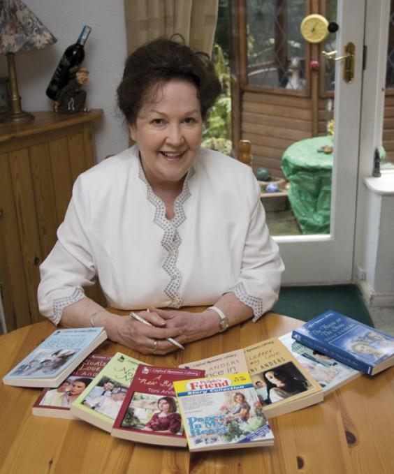 Alvechurch author Toni Anders