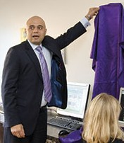 Sajid Javid opens The Lounge in Alvechurch