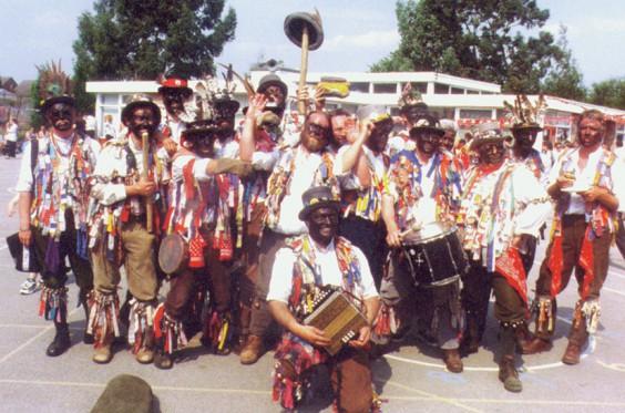 Morris side in 1999