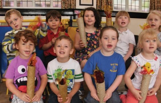 Pre-school pupils