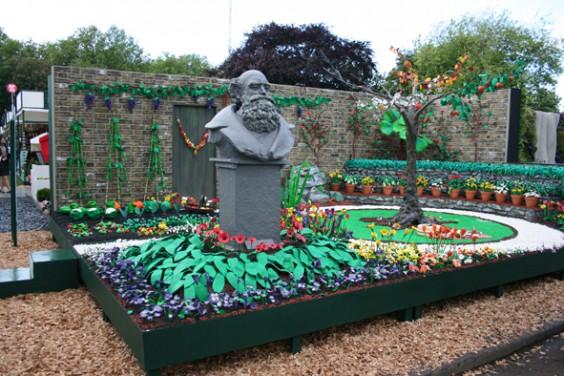 Plasticine garden