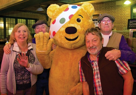 Band with Pudsey