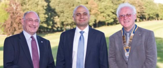 David Gilburn, Sajid Javid, Dave Foster<br />