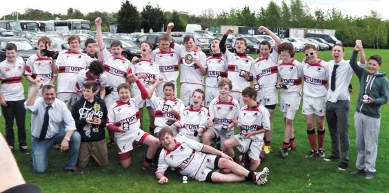 Victorious under 14s